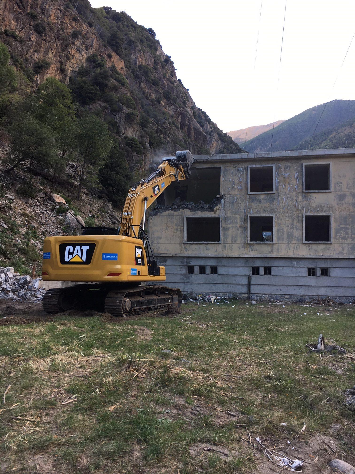 Reconstruction du bâtiment de commande du Poste Electrique de Valabres – Phase 1