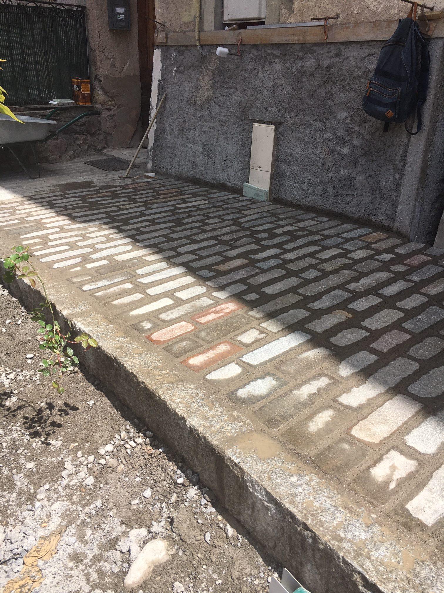 Travaux de renouvellement, réhabilitation et d'aménagement de rue principale de la Bolline à Valdeblore
