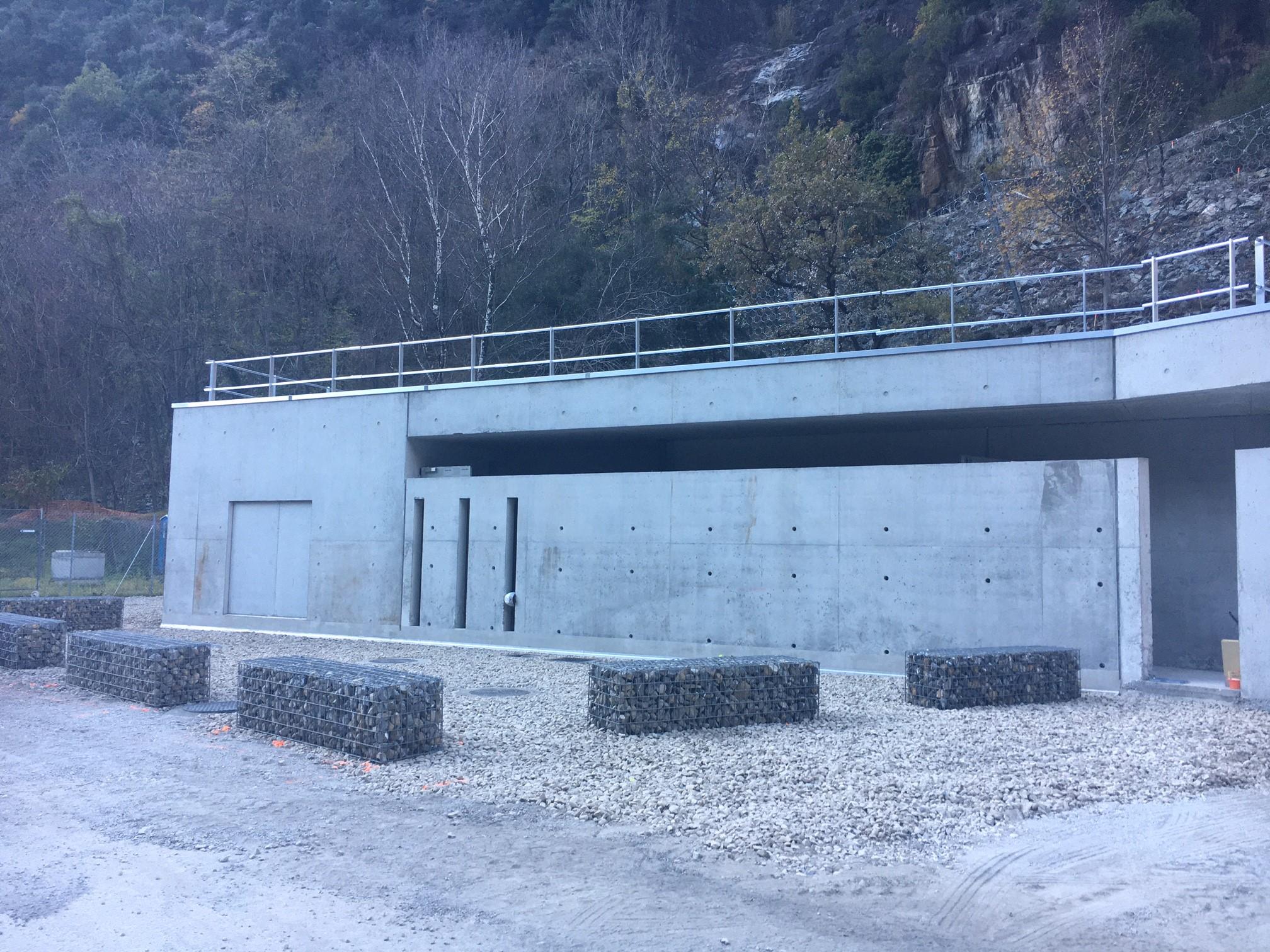 Reconstruction du bâtiment de commande du Poste Electrique de Valabres – Phase 2