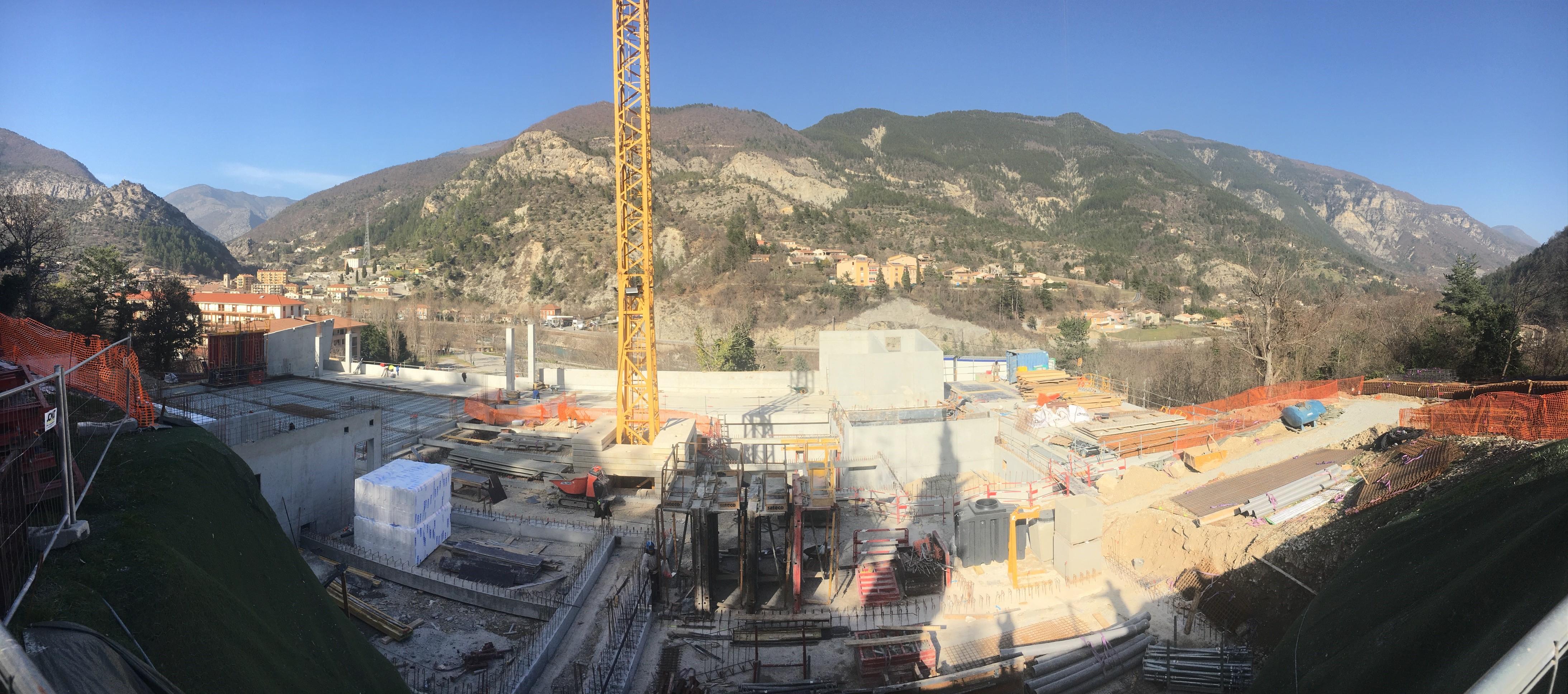 Construction d'un Centre de secours à PUGET THENIERS